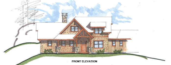 Elevation for The Chester